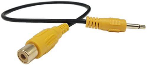 3 5mm RCA Video Cable Gold Plated 3 5mm Mono Mini Male to Single RCA Female SinLoon Video Cable product image
