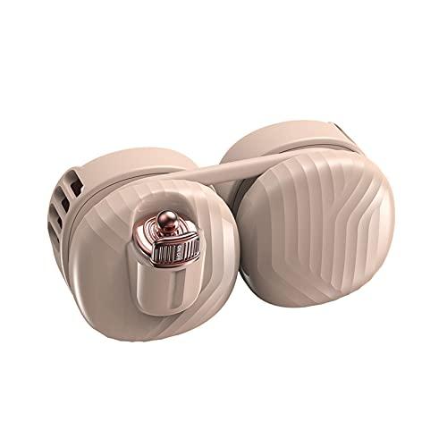 LWZ Ventilatore da Collo sospeso Mini Ventilatore USB Creativo, Adatto per Viaggi Sportivi in Ufficio all'aperto,Rosa