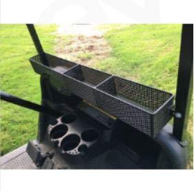 EZGO Golf Cart Front Basket Dash Storage Organizer Sturdy Design for RXV 2008+ Golf Carts