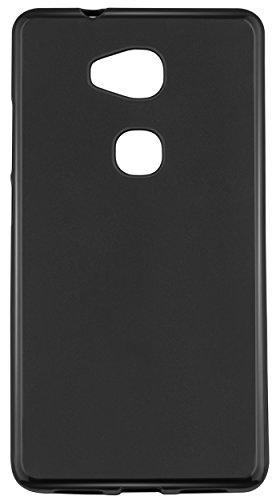 mumbi Hülle kompatibel mit Honor 5X Handy Case Handyhülle, schwarz - 5