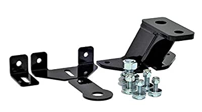 P&M Fabrication Universal Lawn Garden Tractor Hitch with Support Brace Kit Included