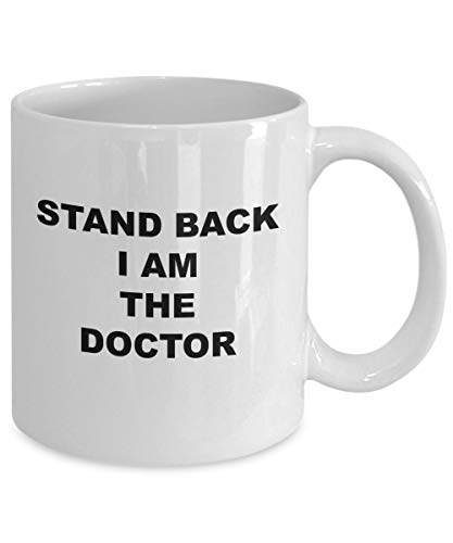 Dr Who Kaffeetasse mit Aufschrift