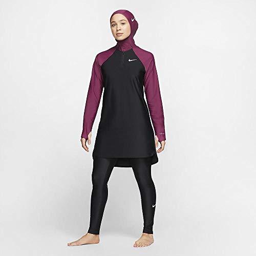Nike Damen Slim Fit Legging Netze, schwarz, XL