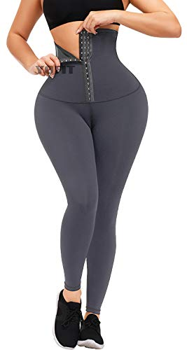 YOFIT Super High Waist Leggings for Women with Adjustable Tummy