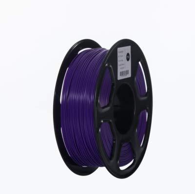 ABS Filament 3D Printer Filament 1.75mm 1kg Printing Materials 3D Plastic Printing Filament toughness (Color : Yellow) JIAJIAFUDR (Color : Purple)