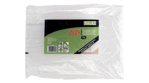 salki 04322103 Barras de Cola Termofusible, Translúcida, 12 mm