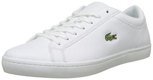 Lacoste Straightset BL 1 CAM Men's Sneakers, White, 7 US