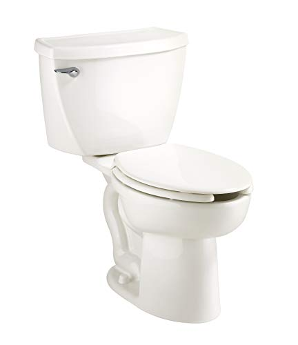 """American Standard 2462.016.020 Cadet Elongated Pressure Assisted Two Piece Toilet, White , 30.25"""" Length x 20.5"""" Width x 29.25"""" Height - 2462016.020"""