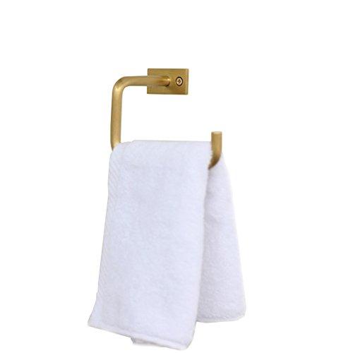 Koper Messing Wandsteun Toilet Papier Houder, Eenvoudige Stevige Vintage Roll Houder Ophanghaak