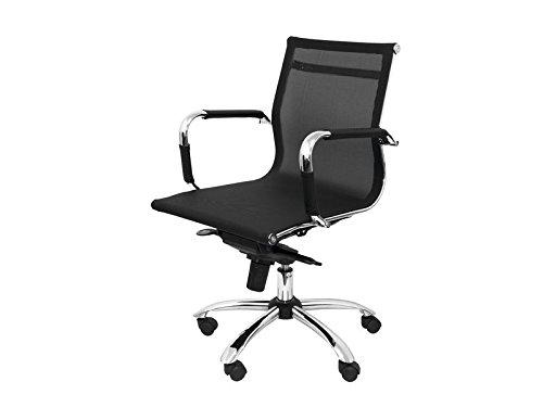 Ecotonik 944520 5* stoel Milano kunstleer zwart 204cbne
