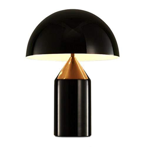 Pilzform Metall Tischlampe Schlafzimmer Nachttischlesung Auge Tischlampe Tischlampe Schwarz