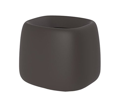 Vondom 42305R - Macetero Organic cuadrado 66 x 73 x 57 cm, con sistema de autorriego, color bronce