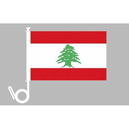Everflag Auto-Fahne: Libanon - Premiumqualität