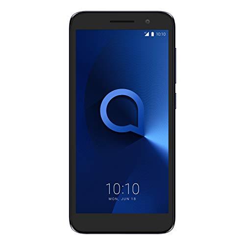 "Alcatel 1 2019 Smartphone 4G Dual Sim, Display 5"" FWVGA, 8GB, 1GB RAM, Android, Batteria 2000mAh, Bluish Nero [Italia]"