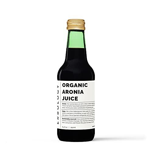 Organic Aronia Juice 250ml – Rich in Anthocyanins
