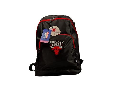 Generico Mochila NBA, mochila escolar NBA, mochila de baloncesto, mochila para el tiempo libre, mochila de viaje, mochila de regalo, mochila Chicago Bulls