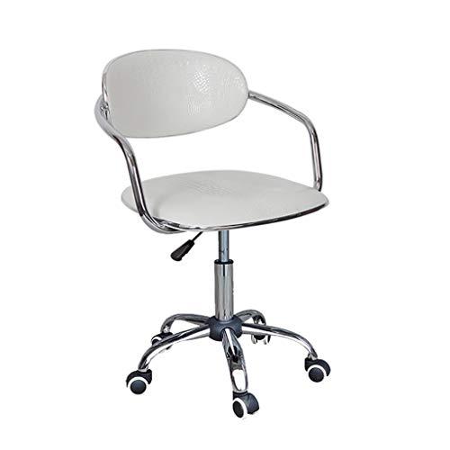 ZHFZD draaistoel van rotan, managersstoel, draaistoel, rugleuning, stoel, bureau, computerkruk (kleur: H) Size D