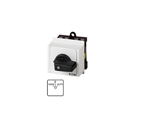 Eaton 026991 Umschalter, Kontakte: 2, 20 A, Frontschild: Hand-0-Auto, 45 Grad, Rastend, Verteilereinbau