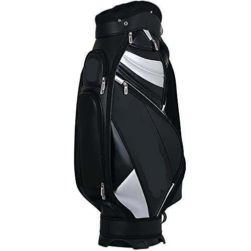 NXX Bolsa para Carrito De Golf Bolsas para Palos De Golf para Hombres Bolsa De Golf De TráNsito FáCil De Llevar Y Duradero Accesorios Impermeables PortáTiles Adecuado para Golfistas, Principiantes