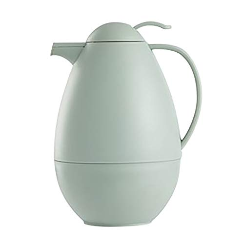 Termo de 1 litro, altura de 25 cm, color verde