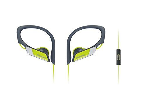 Panasonic RP-HS35ME-Y - Auriculares Deportivos (Impermeable, Uso Cómodo y Ultraligero, Micrófono,...