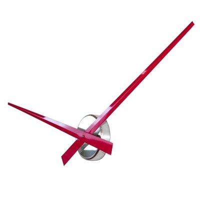 Horloge Grosses Aiguilles de Roco Verre Rouge (75cm)