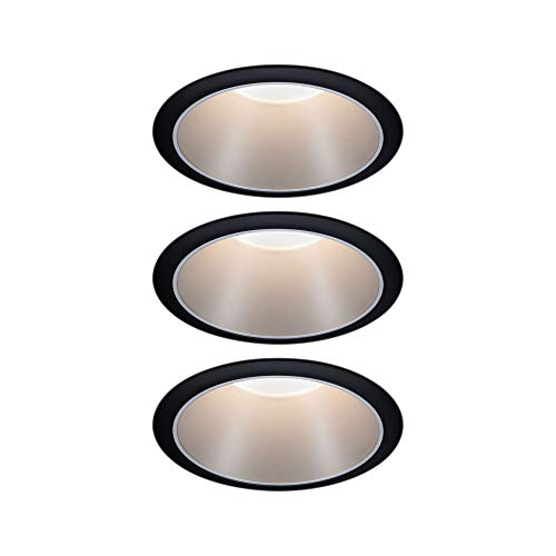 Paulmann 93408 LED spots encastrés Cole rond incl. 3x6,5wat