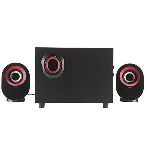 Multimedia-Lautsprecher, Computer-Lautsprecher, Retro-Holzform,...