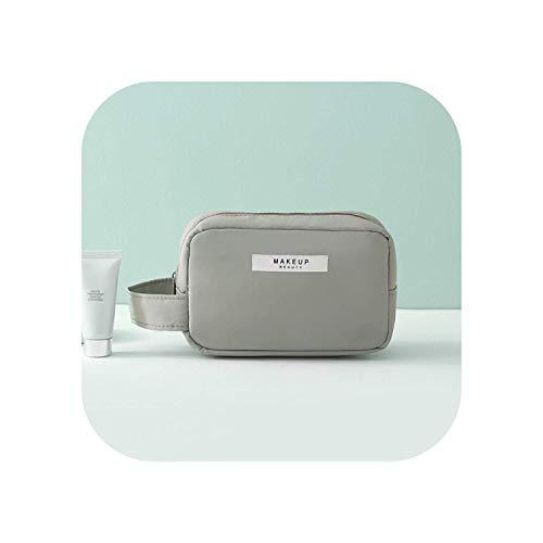 ZWWZ Cosmetic Bag Travel Multifunktions Verfassungs-Fall-Frauen-Spielraum-kosmetischer Beutel-Beutel-Toilettenartikel-Organisator-Beutel Unisex Big Small Size-Speicher-Beutel-Blue Small- HAIKE