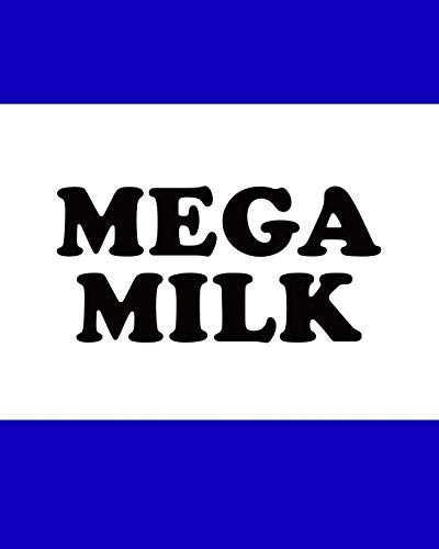 Mega Milk: Academic Weekly Planner 2019 - 2020 for Anime / Manga Lovers. School homework organiser / Diary with monthly calendar, blank timetables + lined notes.