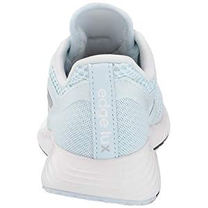 adidas Women's Edge Lux 3 Running Shoe, Sky Tint/Silver Metallic/White, 6.5 M US