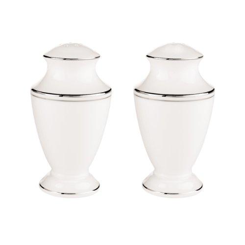 Lenox Federal Platinum Salt and Pepper Set, White