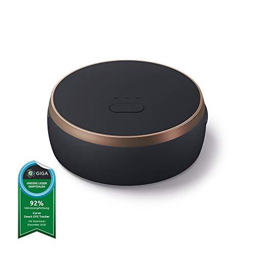 Vodafone Curve Smarter GPS-Tracker mit integrierter smart SIM, Leichter Tracker für Taschen, Hunde, Auto, Laptop, Schlüssel - 100 Tage kostenfrei nutzbar