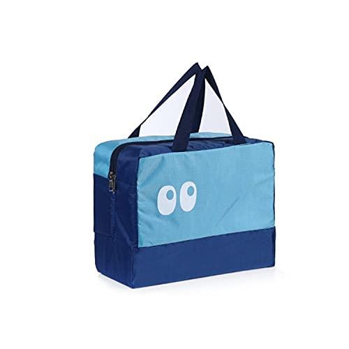 PetKids - Borsa da viaggio, borsa da spiaggia, per cabina aereo, pieghevole, leggera, per riporre bagagli, zaino per viaggi, sport, 28 x 36 x 18 cm, Style-02, M,