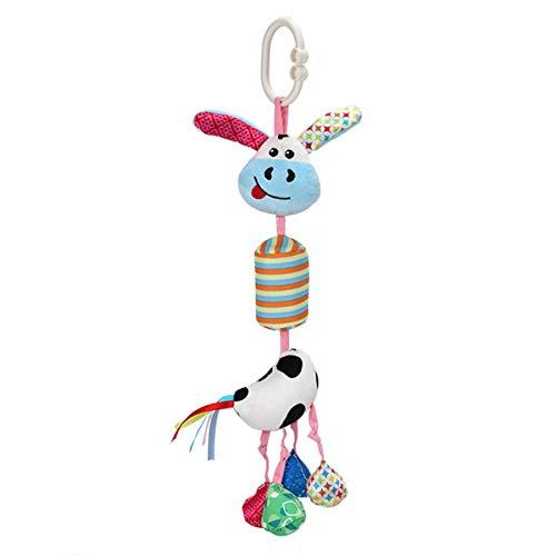 NCONCO Bebé colgante sonajero juguete bebé cuna cama cochecito colgante animal juguete para bebés de 0 a 3 años