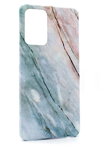 Mrwildstudio Funda para Samsung Galaxy A52 4G, diseño de mármol y menta