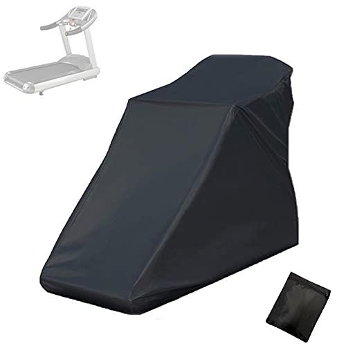 KXHWSH Funda Impermeable para Cinta de Correr - Polvo Protector Solar Impermeable Cubierta de Tela Oxford 210D Fácil de Plegar y Transportar (Negro)