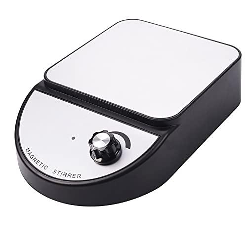 ZOULME Multifunktionaler Mikro-Vortex-Mischer,Labor-Magnetrührer,Rührvermögen schwarzer Touch-Modus-Farbmischer,kann für Labore,Nagelstudios,Maler,Tätowierer und Bastler verwendet werden