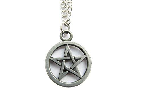 Ancient Gun Pentagram Necklace Supernatural...
