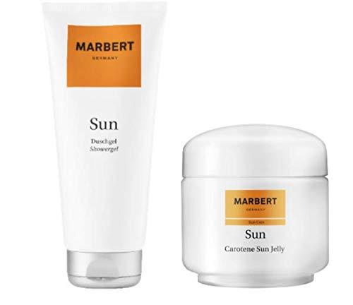 Marbert Sun Care Carotene Sun Jelly Bräunungsgel 100 ml & Duschgel 200 ml