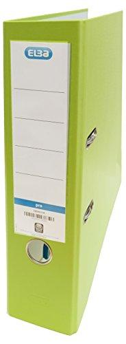 Elba Rado Top - Archivador palanca forrado en polipropileno, Fº, color verde