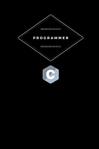 Programmer: Lined Notebook - Medium (6 x 9 inches) - 110 Pages - Black Cover