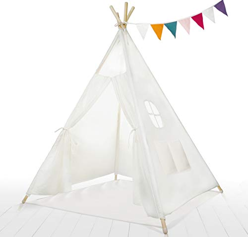 Kids Teepee Tent Children Play Tent 5 ft...