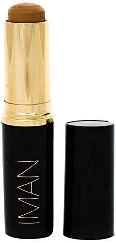 IMAN Cosmetics Second to None Stick Foundation, Medium Skin, Clay 2