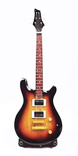 Guitarra en miniatura, guitarra decorativa, guitarra Fender Stratocaster 24 cm, naranja #194