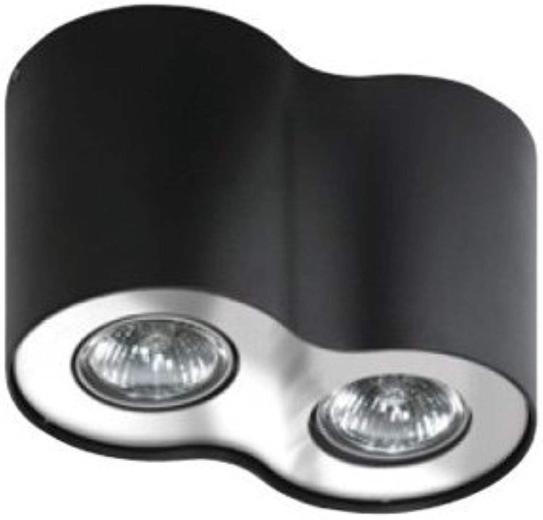 Moderner Deckenlampe 2x50W GU10 NEOS FH31432B_BK-CH AZzardo