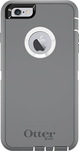 Rugged Protection OtterBox Defender Case for iPhone 6, 6s - Not for iPhone Plus Size (Gray)