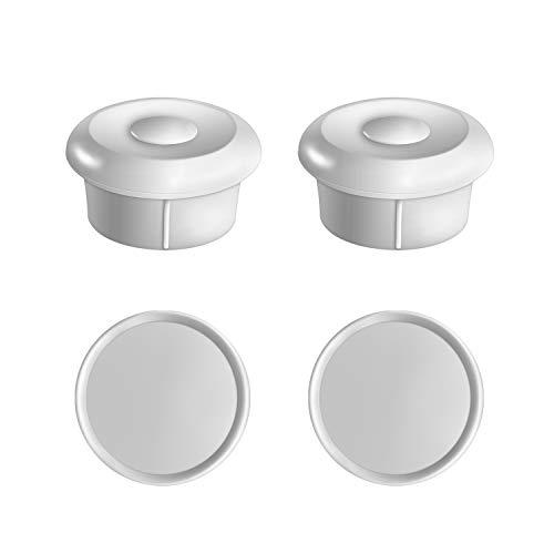 Norjews Ersatz Schlüssel für Babysicherheit Magnetisches Schrankschloss, Supermagnet für Schrank & Schublade, ohne Bohren und Schrauben, 2 Schlüssel Babysicherheit Magnetschlösser 2 Stück
