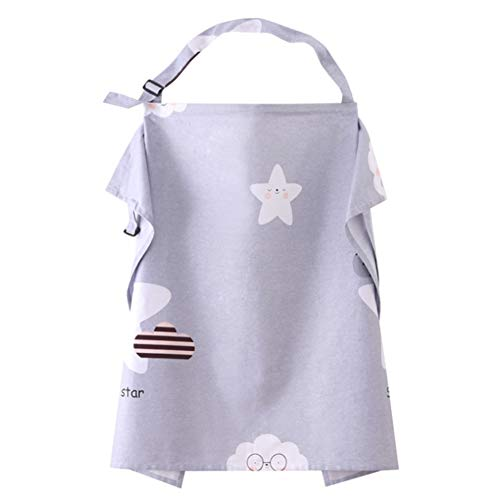 Vie privée d'allaitement Couverture d'allaitement Nourrir Tablier d'allaitement pour bébé Femmes Maman Châle Vêtements Nourrir Foulard Couvertures d'allaitement,Stars