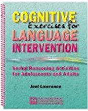Cognitive exercises for language intervention: Verbal reasoning activities for adolescents and adults